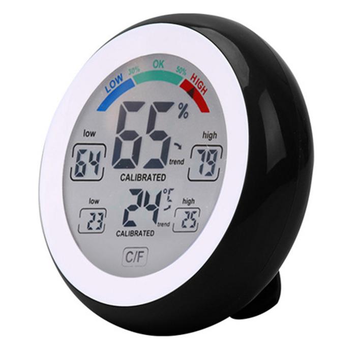 Комнатный электронный термогигрометр METERK TS-S93 (Подарок)