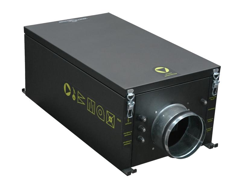 Приточная канальная установка Колибри-500 EC (автоматика Zentec)
