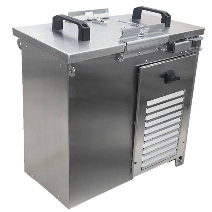 Компактная вентиляционная установка SATELLITE (автоматика GTC) + торцевая рама