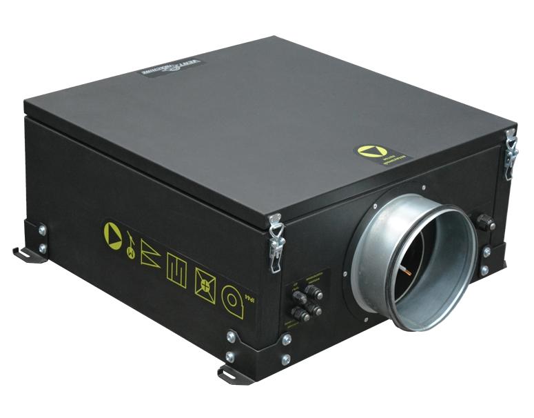 Приточная канальная установка Колибри 700 EC (автоматика GTC)
